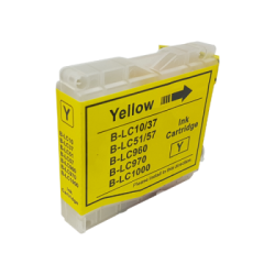 Brother Compatible LC970/LC1000 Yellow Inkjet Cartridge -...